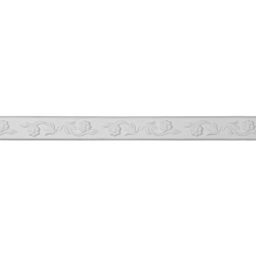 ekena mld02X 00ke 21/8Zoll Höhe x 5/8Zoll Projektion X 941/2Länge Kent Running Blume Panel Zierleiste-grundiert -