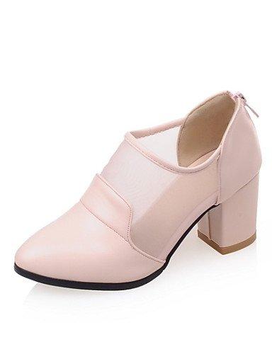 ShangYi Mode frauen schuhe damenschuhe heels heels Ferse Kunstleder Hochzeit / Büro & Karriere / Party & Abend / Kleid / Casual Schwarz Rosa
