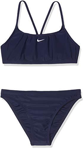 Nike 93173-440 Bikini, Niñas, Azul Marino, 12