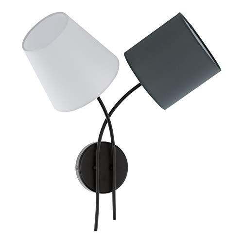 EGLO ALMEIDA illuminazione da parete Adatto per uso interno Antracite, Bianco E14