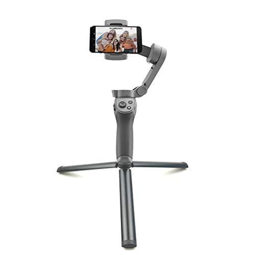Für DJI OSMO Mobile 3 Tripod Mount, Handheld Telefon Halter Stativ Leichtgewicht Alloy Stabilizers Gimbal Holder Stativbeine Stativhalterung Zubehör Kompatibel mit DJI OSMO Mobile 3,Tragbar(Schwarz)