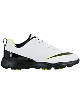 Nike Control Zapatillas Deportivas de Golf, Niños, Blanco (101), 37.5