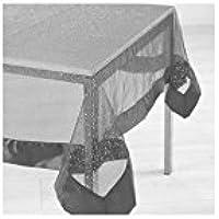 L'Harmonie du Decor - Tovaglia rettangolare (240 x 140 cm) Festille raso Grigio