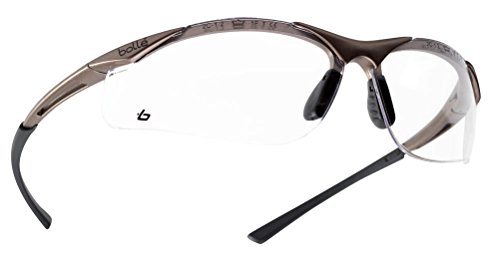 Bolle CONTPSI Contour Safety Glasses - Clear