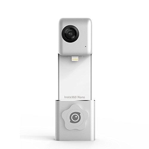 Insta360 Nano hardwrk Edition mit Halterung für Stativ oder Selfie Stick – 360 Grad Kamera für iPhone - 2