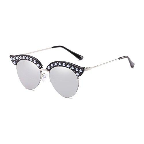 5f025c35e19 Burenqi  Lunettes de Soleil Œil de Chat Perles De Luxe d occasion Livré  partout