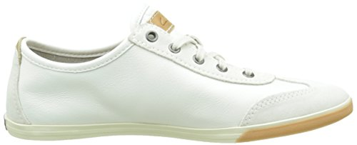Clarks Mego Race Herren  Sneakers Weiß (White Leather)