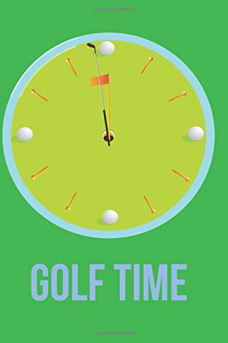 Golf Time: Blank Line Journal por Mary Lou Darling