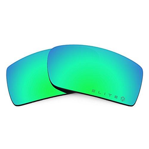 Revant Ersatzlinsen für Oakley Gascan Polarisierung Elite Rogue Grün MirrorShield® (Oakley Gascan Lens)