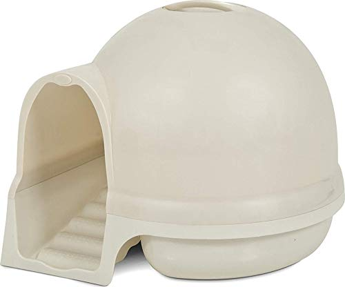 Booda Petmate kuppelförmige Katzentoilette mit Treppe