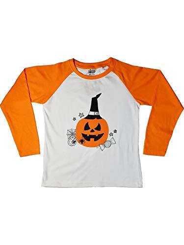 The Talking Canvas Halloween Pumpkin T Shirt for Kids Regular Fit