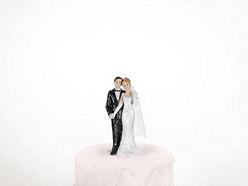 Figura decorativa boda nupcial elegant decoración para tartas
