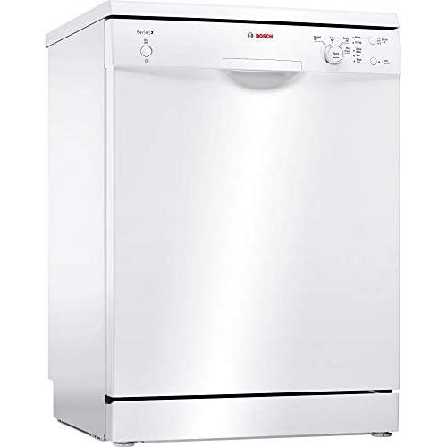 31G9 pqVCOL. SS500  - Bosch SMS24AW01G Serie 2 Freestanding Dishwasher, 12 place settings, 60cm wide, White