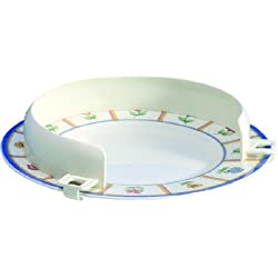 Reborde auxiliar indicado para platos 20 a 30 cm
