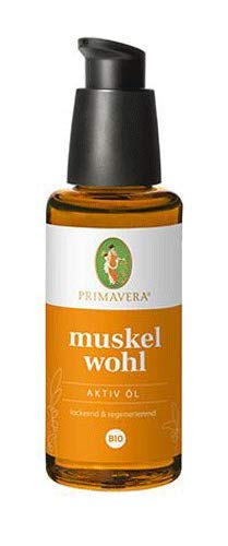 Primavera Bio Muskelwohl Aktiv Öl, 50 ml