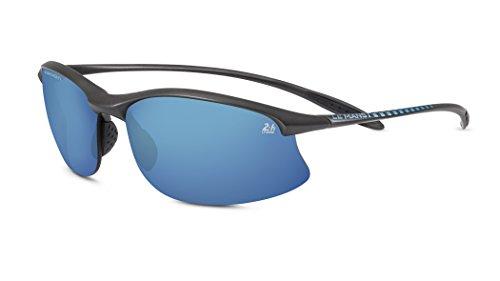 VertXmasculinepolarisésdes lunettes desoleilSportCyclismecourseextérieure.–Framenoiretbleu.Lentillebleu. mo2QDLbr