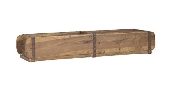 """IB Laursen Holz Tablett /""""Kiste/"""" UNIKA 35 cm Unikat Aufbewahrung Box"""