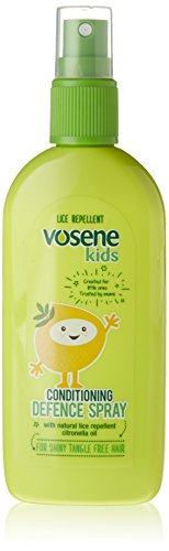 Vosene Infantil Avanzado Acondicionador Defensa Spray Piojos Repelente 150 ml