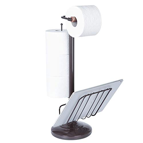 Better Living Produkte WC-Caddy Tissue Spender mit Magazin Rack, Oil Rubbed Bronze, S -