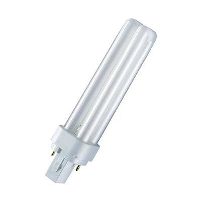 Osram Kompakt-Leuchtstofflampe Dulux D 18W/840 G24d-2 coolwhite von Osram auf Lampenhans.de