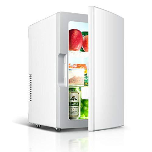Autokühlschränke mit großem Fassungsvermögen für Autos und Privathaushalte, elektrische Kühlgeräte und Herde (18 Liter) - 220-V-Doppelverteilerkammer und 12-V-Gleichstromsteckdosen,
