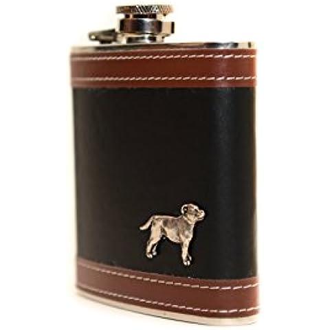 Staffordshire Bull Terrier, In acciaio inox fiaschetta,