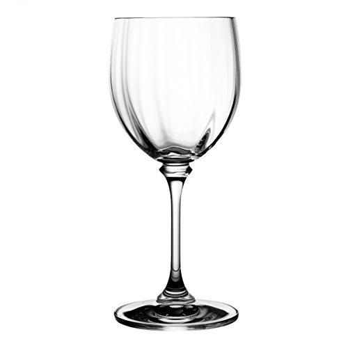 Crystaljulia 9645 Weinglas Bleikristall 6 Stück, 220 ml
