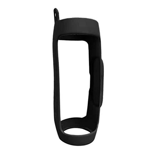 Silikon Hülle für JBL Charge 4, 7Lucky Silicone Case Cover Schlinge Tasche für JBL Charge 4 (Schwarz)
