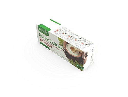 Joghurtferment für Bio-Joghurt – eine Packung mit 10 Beuteln tiefgekühlter trockener Kulturen - 8