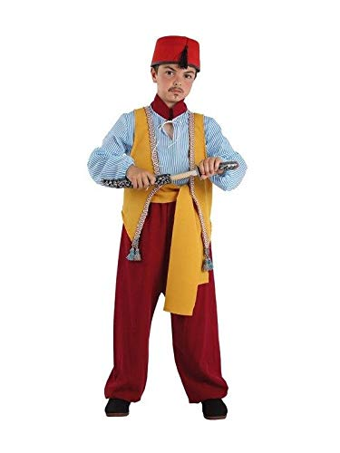 DISBACANAL Disfraz de árabe Infantil – Único, 8 años