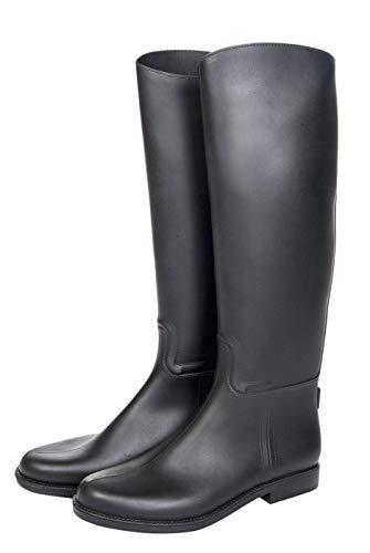 HKM 9678 Reitstiefel Bern, Stiefel Standard, Gewebeeinsätze, Unisex 33