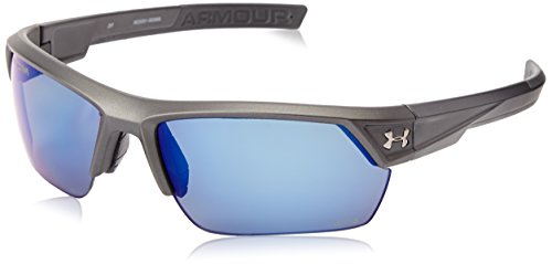 Under Armour Igniter 2.0 Satin Carbon Frame, with Charcoal Gray Rubber and Storm (ANSI) Gray (Under Armour Igniter)