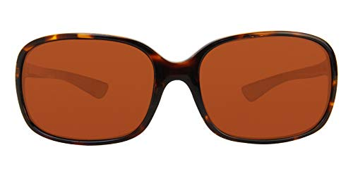 Costa Shiny Riverton 580P Sonnenbrille Schildkröte/Kupfer, Damen, Riverton, Riverton Shiny Tortoise Copper 580P, Shiny Tortoise Frame Copper, Einheitsgröße