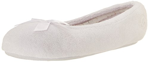 Isotoner  ISOTONER 9896H, Damen Tanzschuhe One size White With Stripes