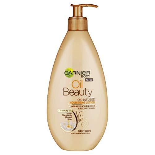Garnier Body Oil Beauty Oil-Infused Nourishing Lotion Dry Skin 400ml