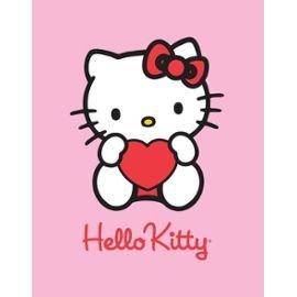 Hello Kitty déco-de-Maison - Manta de Forro Polar
