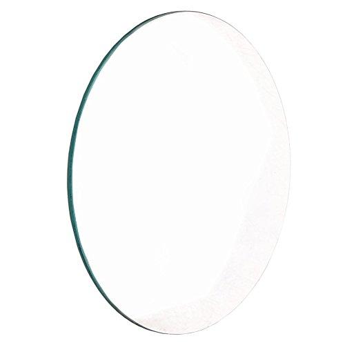 ueetek doppelt konvexe Linse aus Glas für Laboratorien-Objektiv Optische 50mm-Durchmesser/100mm-Brennweite -