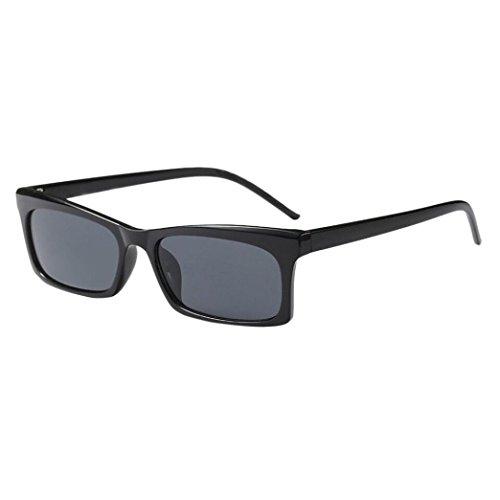 Dragon868 Damen Sonnenbrille Mode Retro Vintage Clut Unisex Sonnenbrille Rapper Grunge Brille Brillen (D)