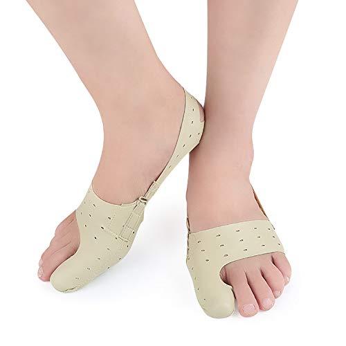 liaoting938 Fußschiene, für großen Zeh, zur Schmerzlinderung, für Hallux Valgus, ultradünn, universal, für Belüftung, Large