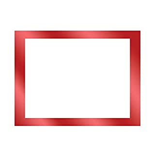 ArtSkills Metallic Framed Poster Board, 22 x 18 Inches, Pack of 15, Red (PA-2005)