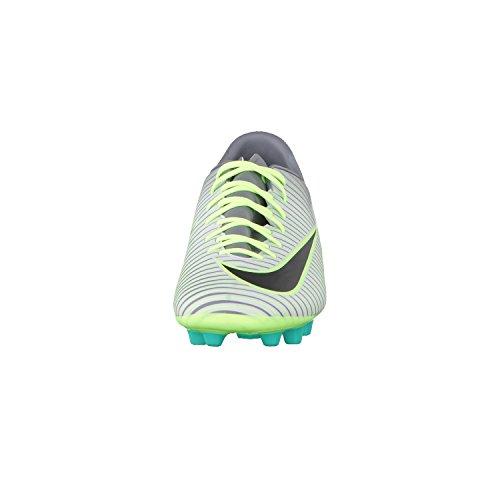 Nike Herren Mercurial Victory Vi Ag-Pro Fußballschuhe Plateado (Pure Platinum / Black-Ghost Green)