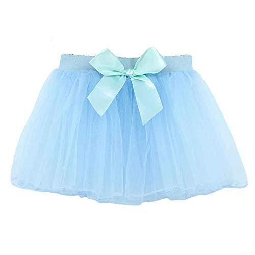 Panda Legends Mädchen süße Blaue Ballett Tutu Rock für Dance Dress Up Kostüme, ()