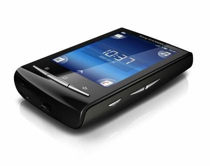 Sony Ericsson XPERIA X10 Mini Smartphone (6,6 cm (2,6 Zoll) Display, Android, WLAN, GPS, 5 MP Kamera) black (Sony Mini Xperia Ericsson)