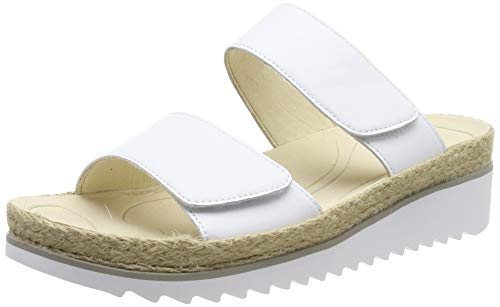 Gabor Shoes Women's Gabor Jollys Wedge Sandals, White, used for sale  Delivered anywhere in UK