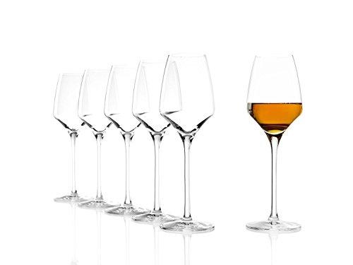 Stölzle Lausitz Süßweingläser Experience 190ml, 6er Set Weinglas, wie mundgeblasen, spülmaschinenfest, hochwertige Qualität Sherry Glas