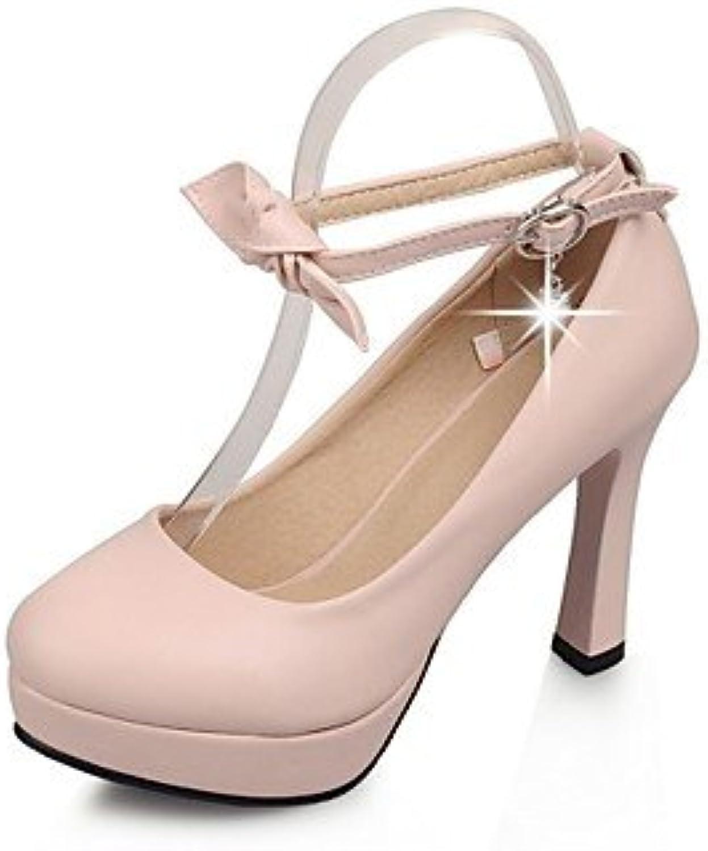 Zormey Women'S Shoes Stiletto Heel Heels / Platform / Round Toe Heels Party &Amp; Evening / Dress Blue / Pink...