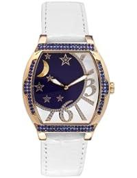 Reloj Yonger pour elle mujer rojo y negro decorado + brillantes–DCC 1533/01