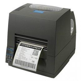 Citizen CL-S631, 12 Punkte/mm (300dpi), Peeler, ZPL, Datamax, Dual-IF, schwarz Dual Peeler