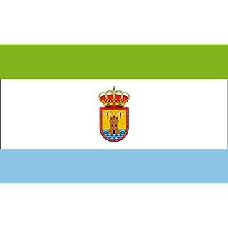 DIPLOMAT Flagge Cabezas de San Juan Sevilla | Las Cabezas de San Juan, Seville, Spain | Cabezas de San Juan, Sevilla, España | Querformat Fahne | 0.06m² | 20x30cm für Flags Autofa