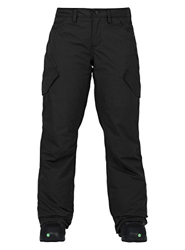 Burton Damen Fly Pants Snowboardhose, True Black, M -